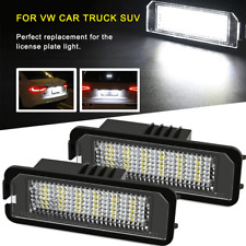 2X CANBUS 36 LED License Plate Light 6000K for VW GOLF 4 5 6 B6 EOS LUPO POLO