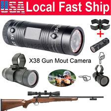 HD 1080P Gun Shooting Video DV Bike Helmet Sports Action Cam For Rifle Hunting