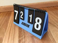 KINSON 剑神 Table Tennis Ping Pong Scoreboard Mini Plastic Counter Score Board