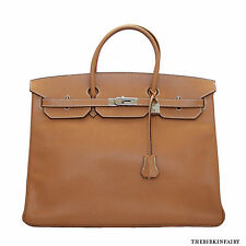 AUTHENTIC HERMES Vache Liegee Birkin 40cm w/ Palladium Hardware