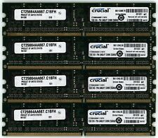 Crucial 8GB (4x2GB) DDR2-667MHz DIMM PC2-5300 Set Of Desktop Memory RAM Modules