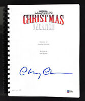 Chevy Chase Christmas Vacation Authentic Signed Movie Script BAS Witnessed