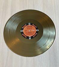 John Coltrane A Love Supreme 1965 Gold Vinyl Record
