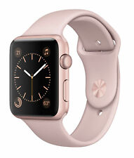 NEW IN BOX!Apple MQ142LL/A Series 2 42mm Smartwatch with Rose Gold Aluminum Case