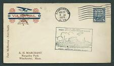 Canada - # 154 on First Flight Cover - 1929 - Rare - Fort McMurray to Fort Smith
