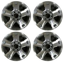 "18"" Ford F-150 2009 2010 Factory OEM Rim Wheel 3779 Charcoal Machined Set"