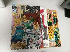 DC COMICS METAL MEN #1 2 3 4 COMPLETE MINI SERIES lot run set collection jurgens