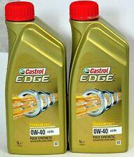 Castrol edge 0W-40 A3/B3/B4 entièrement synthétique pour essence & diesel moteurs -2 ltr