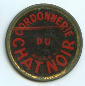 Stamp Mint Paris Shoe Repairs Of Black Cat 10 Cents Red