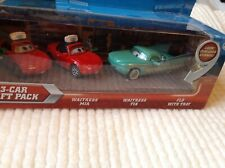 Disney cars pack of 3 cars flo,Mia,Tia BNIP
