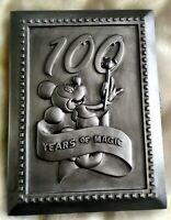 Walt Disney MICKEY MOUSE '100 Years of Magic' Book Style PHOTO FRAME & PIN NIB