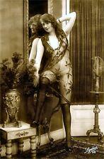A4 Vintage 1920's Art Deco Pretty Nude Girls ..Victorian/Edwardian Beauties 264