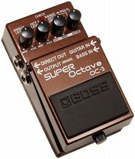 Boss OC-3 Super Octave Electric Guitar Effect Pedal Japan import With Tracking