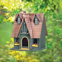 Wood Storybook Cottage Bird House - Jackson Mountain