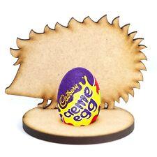 Wooden MDF Hedgehog Craft Easter Creme Egg Holder Stand Perfect Easter Gift