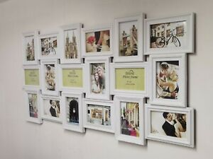 X Large 18 Photos Multi Picture Wall Frame Memories Collage Aperture decoration