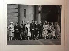 Vintage Real Photograph #L - Large Mounted Wedding Picture 2 of 3 - Family