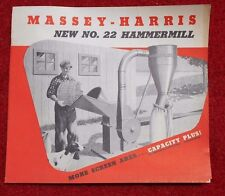 Vintage Original Massey Harris Number 22 Hammermill  NOS