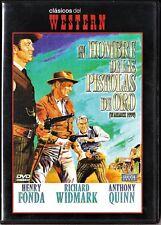 EL HOMBRE DE LAS PISTOLAS DE ORO de Dmytryk. España tarifa plana envíos DVD: 5 €