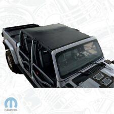 2020 Jeep Gladiator JT Roof Sun Bonnet Mesh Top Genuine Mopar