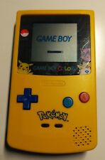 Nintendo Game Boy Color Colour GBC Pikachu Special Edition Pokemon -REFURBISHED-