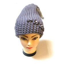 Gorras y sombreros de mujer de poliéster de talla única