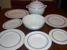 Servizio piatti per 12 DOMINO Bone China 42 pezzi-  NUOVO - RITIRO IN ZONA