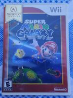 Super Mario Galaxy Nintendo Wii TESTED Game Works Complete