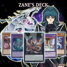 Zane's Cyber Dragon Deck 51 Cards Megafleet End Infinity Core Nova Twin YuGiOh