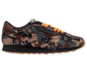Reebok x Shoe Palace Classic G.I. Joe Camo Green Brown Mens Sneakers CN2804