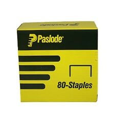 Paslode PNEUMATIC STAPLE 10x21Gauge 80 Series 20000 Pcs Galvanised *Aust Brand