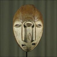 59656) Afrikanische Lengola Holz Maske Kongo Afrika KUNST