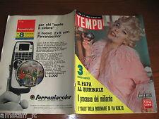 RIVISTA TEMPO 1963/21=DANIELA ROCCA=PAPA GIOVANNI XIII=ANNA MAGNANI=JOAN MIRO'=
