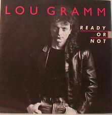 "LOU GRAMMES - READY OR NOT - ROCKERFELLER PLAZA - 7"" SINGLES (E874)"