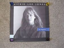 """Vintage (1984) Record Store Promo Poster - Rickie Lee Jones """"The Magazine"""" Cool"""