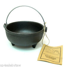 Old Mountain Pre Seasoned  Ol' Iron Kettle, 6 Inch Diameter