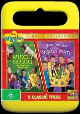 The Wiggles: Hoop Dee Doo It's a Wiggly Party / Wiggly Safari NEW R4 DVD