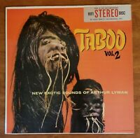 1960 Arthur Lyman~Taboo Vol. 2, HiFi Records R822 STEREO (MISPRINT)~EX/NM