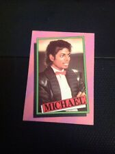 Trade Card 1984 Mjj Michael Jackson No 6 M47800