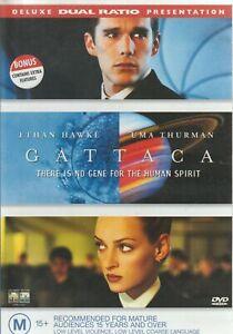Gattaca (DVD, 1999) Horror Ethan Hawke, Uma Thurman, Jude Law