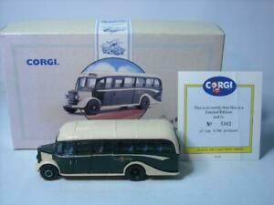 Corgi 1/50 Scale Bus 97106 - Bedford OB Coach - Fred Bibby Limited Edition