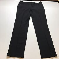 Loft Marisa Straight Black Dress Pants Size 8 A428