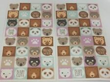64 teddy panda polar koala bear stickers birthday party loot bag favours reward
