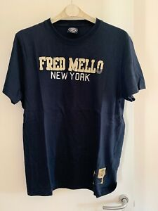 t shirt uomo Fred Mello New York Taglia L
