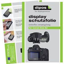 6x dipos Canon EOS 6D Film de protection d'écran protecteur antireflet