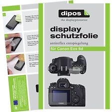 6x dipos Canon EOS 6D Pellicola Prottetiva Antiriflesso Proteggi Schermo