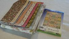 """5 & DIME Fat Quarter Quilt Garden Party Collection Moda By All Washed Up 60x81"""""""