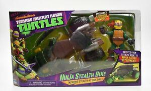 Nickelodeon Teenage Mutant Ninja Turtles - Ninja Stealth Bike & Raph Figure