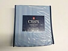 Chaps Blue Damask Stripe 500 Thread Count Full Bed Skirt New Nwt #12257