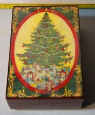 Gorham Music Box G2603 Christmas Plays Deck the Halls XMAS Wind Up Handcrafted